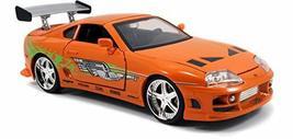 Jada Toys Fast & Furious 1:24 Brian's Toyota Supra Die-cast Car, toys fo... - $35.31
