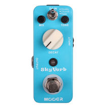 Mooer Sky Verb Digital Reverb Micro Guitar Effects Pedal - $63.50