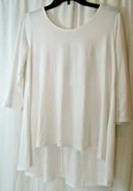 Charming Charlies Womens Sz Medium  criss cross back 3/4 Sleeve Shirt  - $19.79