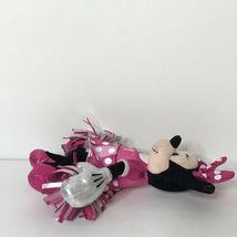 "Ty Sparkle Minnie Cheerleader Disney Beanie Plush Stuffed Animal 9"" Tall image 4"