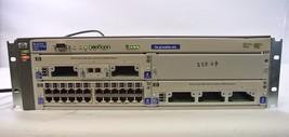HP Procurve Network Switch 4104gl J4887A, 2x J4864A J4862B 2x PSU - $62.99