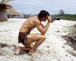 Tarzan Featuring Ron Ely on Set with Camera 16x20 Canvas - $69.99