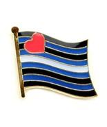 Piel Orgullo Pin Broche Bandera 1.3cm Sombrero Corbata Tachuela Insignia... - $4.90