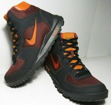 Nike Takos Mid Ankle Boots Men's US Sz 8 ACG Black Hiking Trail 317543-2... - £56.62 GBP
