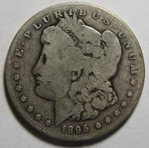 1895S MORGAN SILVER DOLLAR COIN Lot# MZ 4011