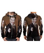 rowan atkinson as harry potter Hoodie Zipper Fullprint Men - $46.80+