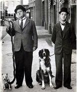 Laurel and Hardy TKK Vintage 11X14 Matted BW TV Memorabilia Photo - $13.99