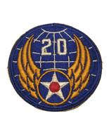 Original WWII USAAF U.S. ARMY 20th AIR FORCE CUT EDGE PATCH No Glow - $15.83