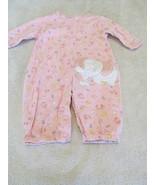 Girls Size NB Child Of Mine By Carter's Pink Elephant Bodysuit - $2.99