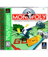 Monopoly - Play Station Game - $10.00