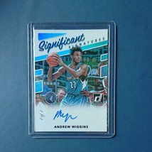 NBA card 2017-18 Panini Andrew Wiggins 1of1 autograph 1/1 - $305.91