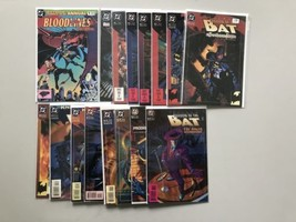 Lot of 16 Batman Shadow of the Bat (1992) from #0 1-38 Annual 1 VF Very ... - $34.65