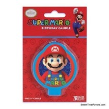 Mario Bros Party CAKE Topper Decoration CANDLES kit Birthday Cupcake Nin... - $9.85
