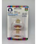 1 Pack of 2 Gerber First Essentials Soft-Center Pacifier Size 0-6 pink &... - $39.00