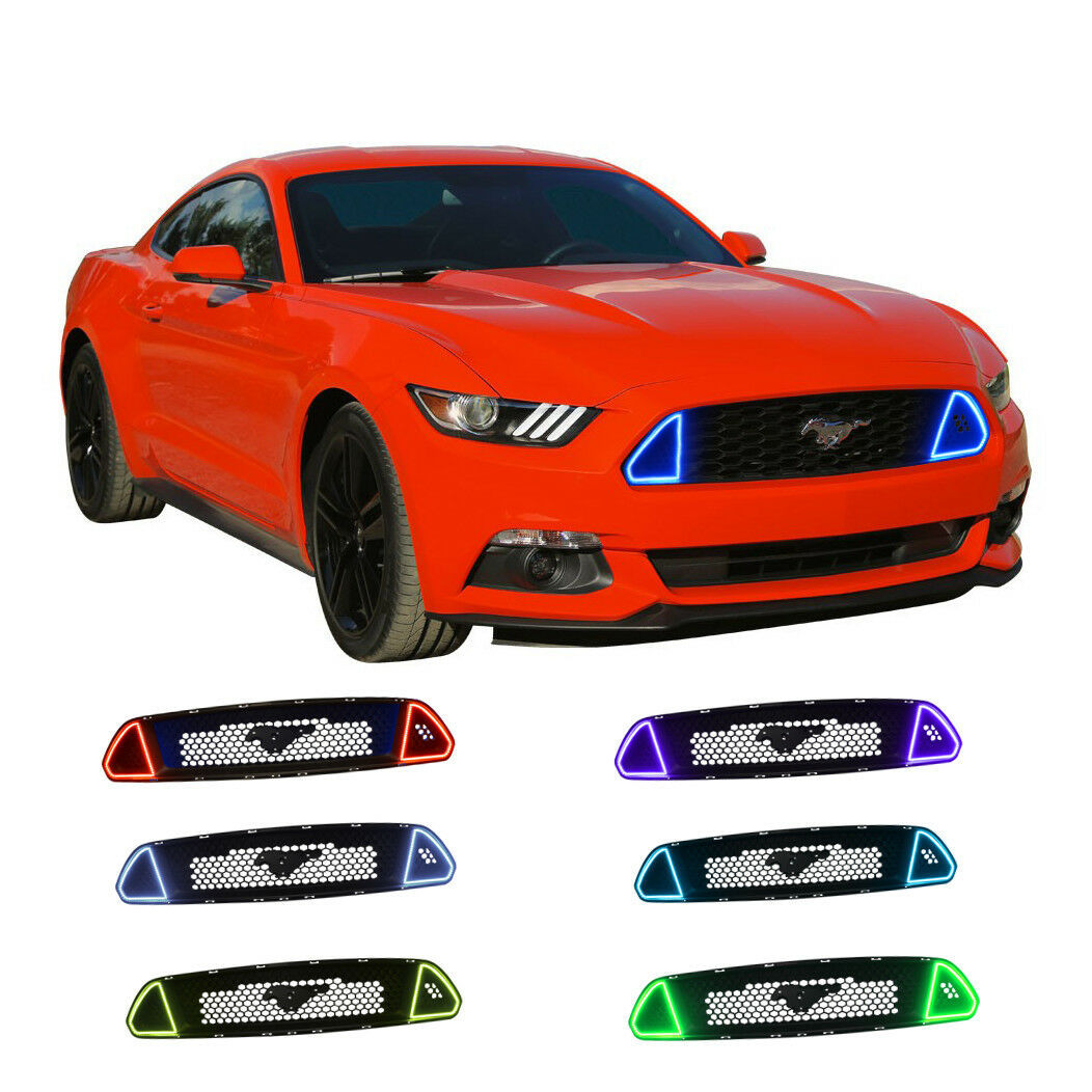Primary image for ColorFuse DRL Multi-Color grille LED Light kit For Ford Mustang GT 2015-2017
