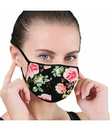 3 PACK Flower Floral Cloth Face Cover Mask Reusable Washable Out indoor ... - $7.90