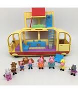Peppa Pig Transforming Campervan Motorhome RV Playset- Incomplete- Makes... - $36.45