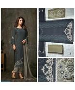 Designer Embroidered Women Anarkali Salwar Kameez Pakistani Design Shalw... - $59.99