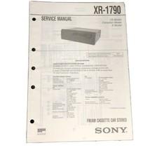 Sony XR-1790 FM AM Car Stereo service Manual - $14.99