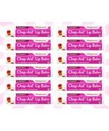 12 Walgreens Chap-Aid Cherry Lip Moisturizer & Skin Protectant Lip Balm ... - $14.84