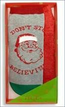 NWT HUE 2-pack Footsie Socks Gift Box Santa Christmas Holiday image 2