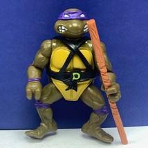 Teenage Mutant Ninja Turtles TMNT action figure playmates 1988 Donatello... - $23.10