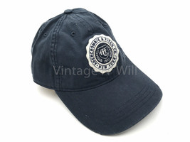 Abercrombie Fitch Jeans Navy/ White Crest Patch Distressed Baseball Cap ... - €20,84 EUR