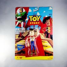 "NEW Disney Pixar Toy Story 4.5"" Bendable Woody Toy (Thinkway 62861) Vintage 1995 - $9.45"