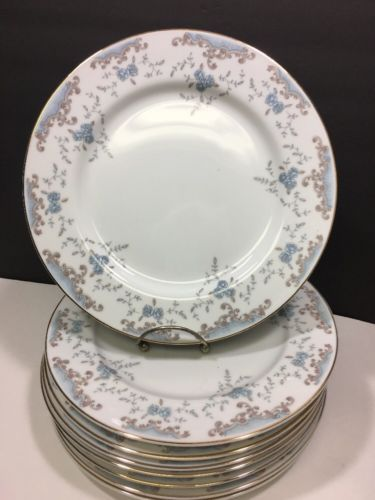 8 VTG 1960u0027s Imperial China W. Dalton Seville Dinner Plates 10.25  & 8 VTG 1960u0027s Imperial China W. Dalton and 49 similar items