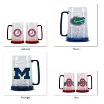 NCAA Team Logo 16oz Freezer Mug Color Insert by Duck House -Select- Team... - $24.95