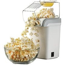 Brentwood PC-486W Appliances Hot Air Popcorn Maker, White - £28.73 GBP