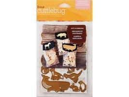 Cricut Cuttlebug Animal Crackers Die Set #2002799