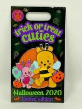 Disney Parks Trick or Treat Cuties Halloween 2020 Pooh Piglet LE 5000 Pi... - $23.75