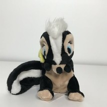 "Disney Store Flower Skunk from Bambi 6"" Plush Stuffed Animal Reversible ... - $9.89"