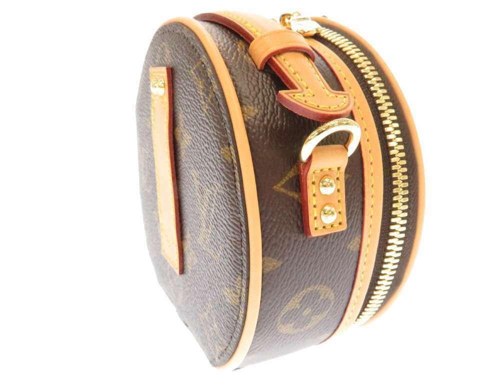 LOUIS VUITTON Mini Boite Chapeau Shoulder Bag Monogram M44699 3Way Bag Authentic image 2