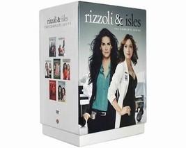 Rizzoli & Isles The Complete DVD Series Seasons 1 2 3 4 5 6 7 Box Set New Sealed - $69.00