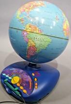 Leap Frog Eureka Challenge Talking World Globe. - $29.65