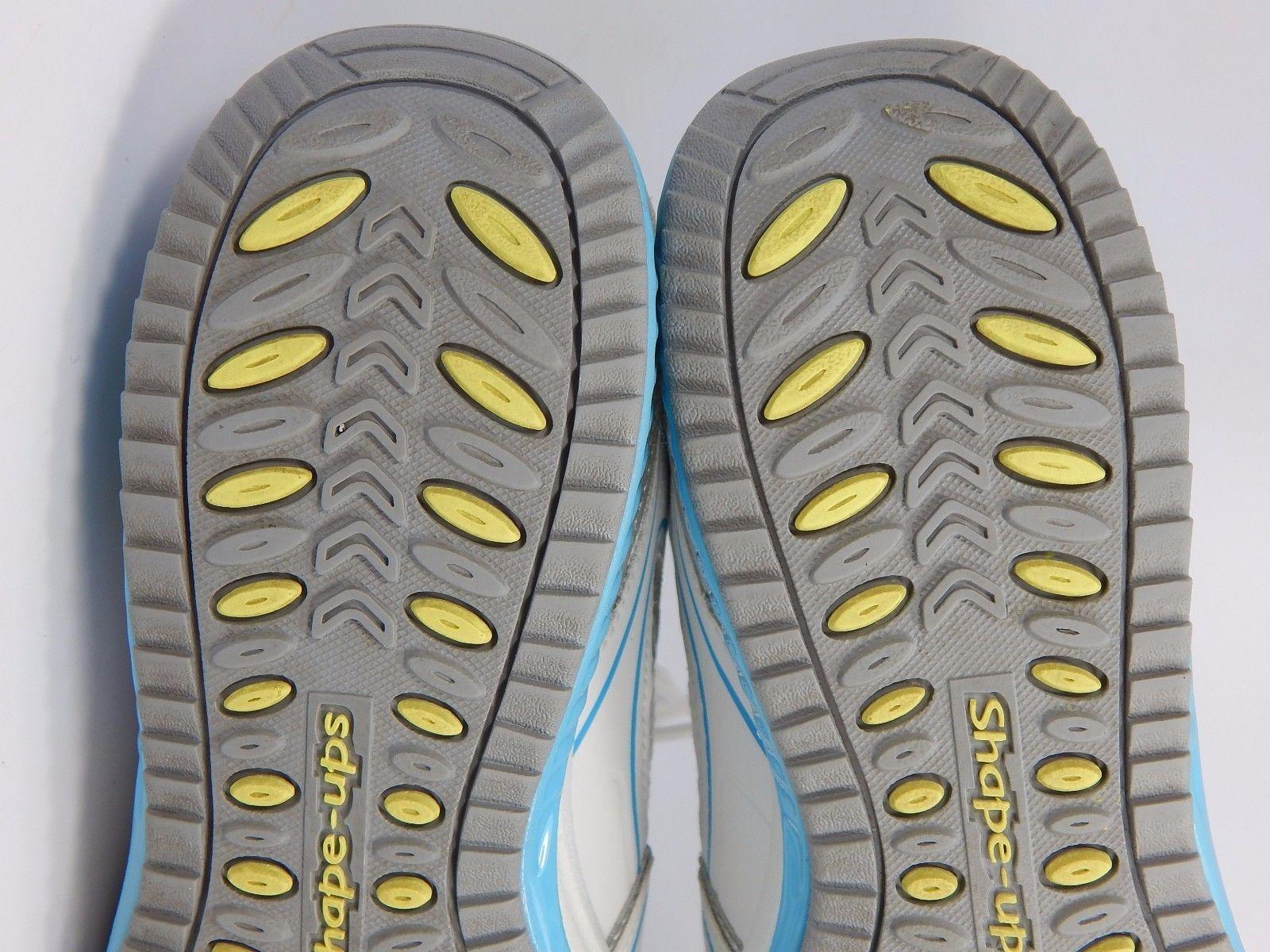 Skechers Shape Ups Women's Running Shoes Size US 7.5 M (B) EU 37.5 White Blue