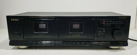 TEAC Stereo Double Cassette Deck W-410..Tested image 1