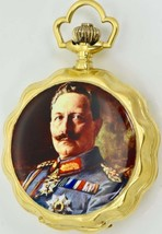 WWI German Officer award System Glashutte gold plated silver&enamel pock... - €5.740,20 EUR