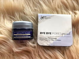 2Pc It Cosmetics Bye Bye Pores Pressed Translucent & Confidence In Beauty Sleep - $13.84