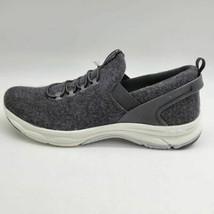 Ryka Womens Felicity Wool Low Top Slip On Sneakers Black Bungee Laces 8W NEW - $45.53