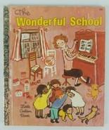 The Wonderful School Book 1969 Golden Press Walt Disney A Little Golden ... - $7.69