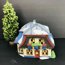Dept 56 Heritage Collection Alpine Village Bakery Chocolate Shop Tree Vintage - $49.49