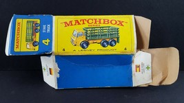 Matchbox Lesney Stake Truck #4 Original Box Only - $14.84