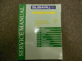 2003 Subaru Forester General Information Section 1 Service Repair Manual BOOK 03 - $42.52