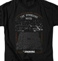 The Shining t-shirt Overlook Hotel retro 80s Stephen King graphic tee WBM562 image 2