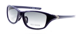Harley Davidson HDX861 NV-35 Wraparound Sunglasses Blue 57-18-135 Smoke ... - $42.31
