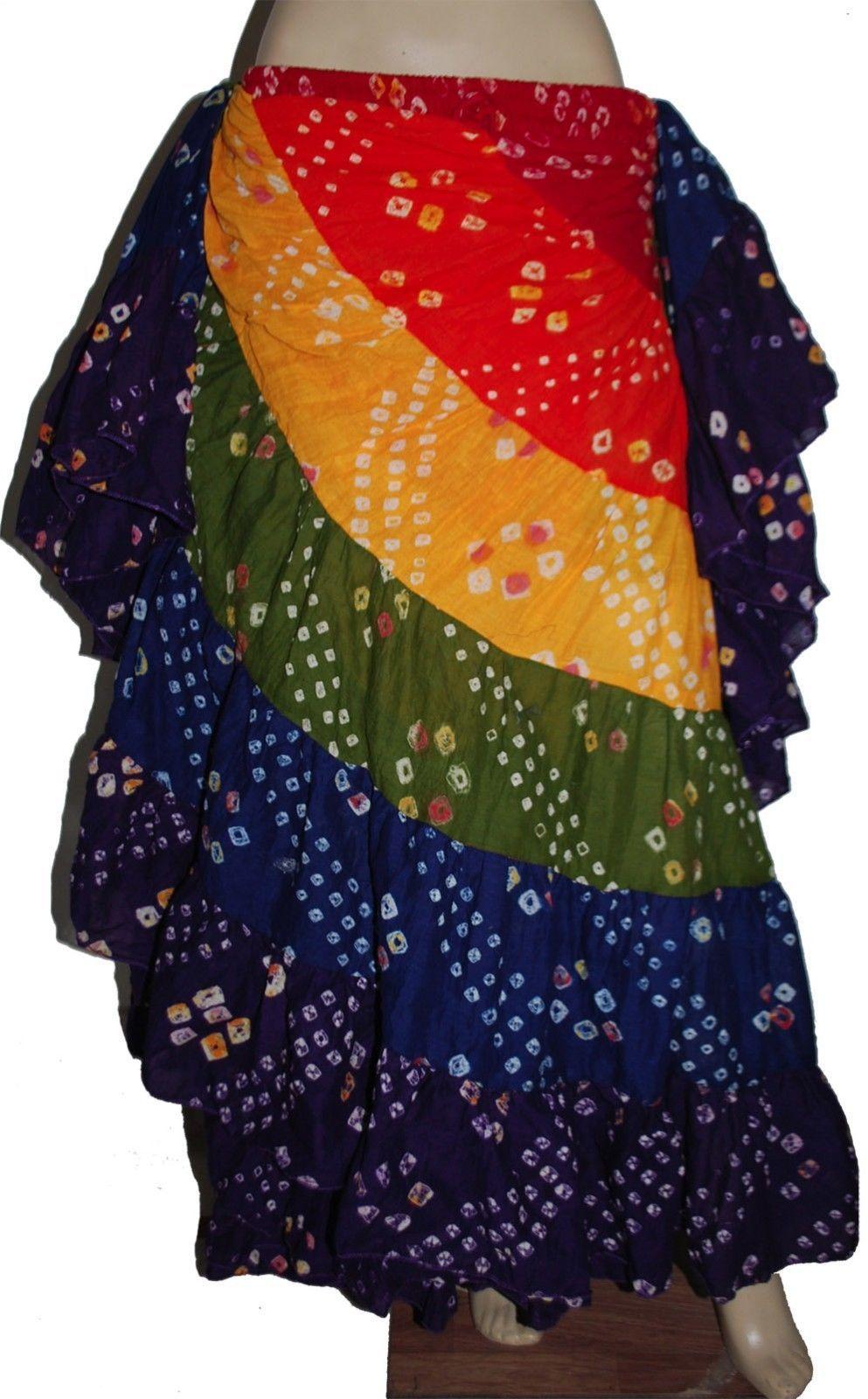 953a1b268d Multi Colour Tribal Dance Jaipur Polka Skirt and 39 similar items