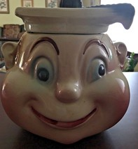 "Cardinal Cookie Jar Rare Vintage USA  ""For Smart Cookies"" Rare Find! - $85.00"